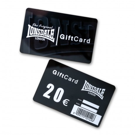 LONSDALE GIFTCARD 20