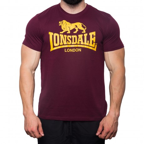 small_imageΑΝΔΡΙΚΟ T-SHIRT LONSDALE LOGO-OXBLOOD