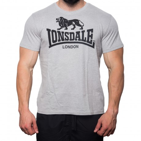 small_imageLONSDALE LOGO TSHIRT GREY