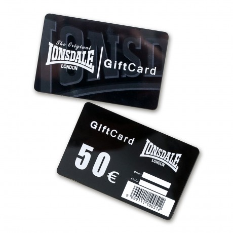 LONSDALE GIFTCARD 50
